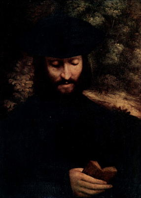 Antonio Correggio. Portrait of a man