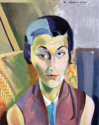 Robert Delaunay. Portrait of Maria Lani