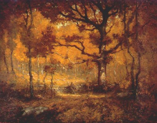 Генри Рейнджер. Осенний лес