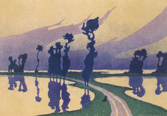 Charles Guillaume. Flood
