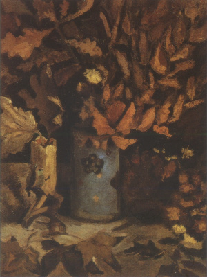 Винсент Ван Гог. Ваза с сухими листьями