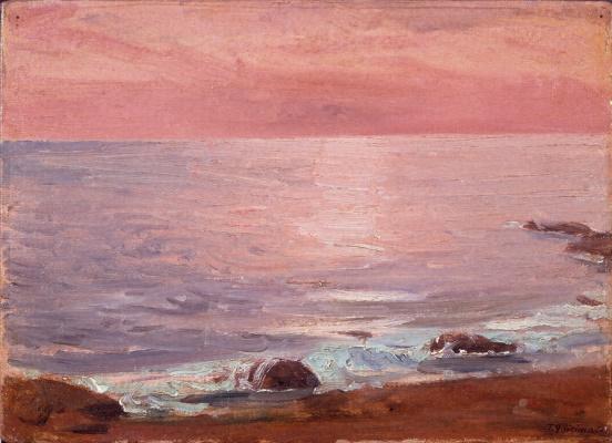 Фудзисима Такедзи. Море. Восход