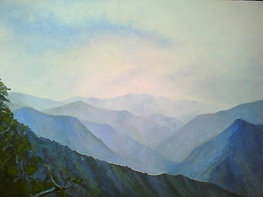 Natalia Moshina-Turusinova. The mountains
