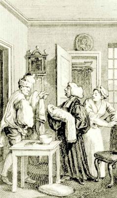 William Hogarth. Baptism