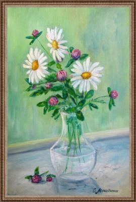 Olesya Alexandrovna Lopatin. A bouquet for mom