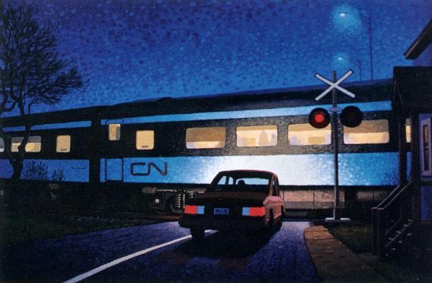 Авто и поезд