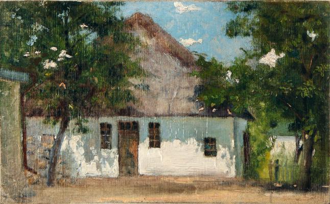 Nikolay Aleksandrovich Yaroshenko. Hut.