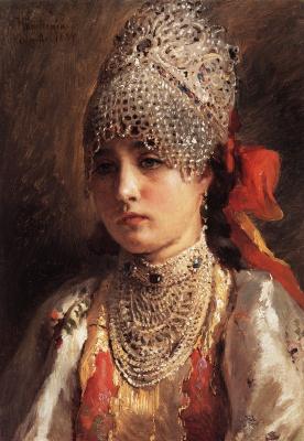 Константин Егорович Маковский. Портрет