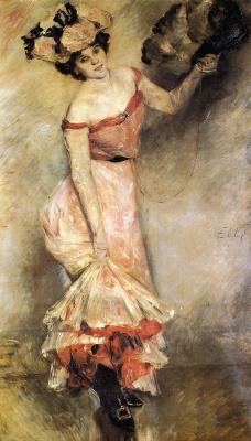Lovis Corinto. Portrait Of Ellie