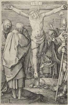 Lucas van Leiden (Luke of Leiden). The Crucified Christ