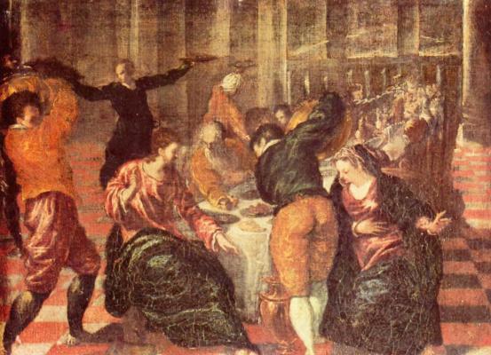 Domenico Theotokopoulos (El Greco). The wedding in Cana of Galilee