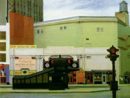 Edward Hopper. Circle Theatre