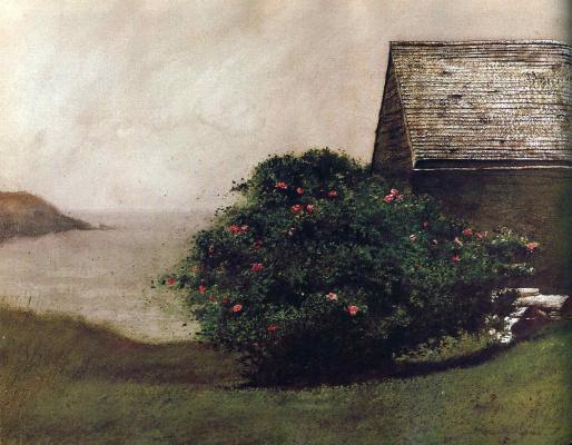 Jamie Wyeth. Rose Bush