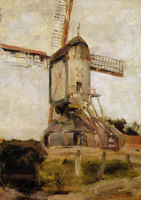 Piet Mondrian. Mill