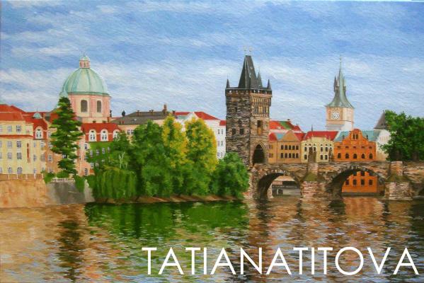 Татьяна Титова. Прага
