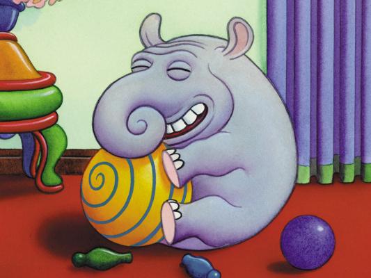 Джим Вудринг. Слон веселится