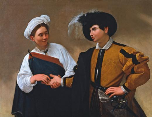 Michelangelo Merisi de Caravaggio. The fortune teller