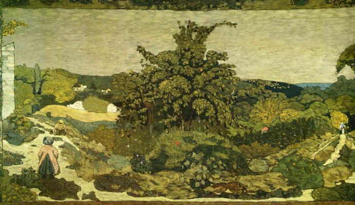 Jean Edouard Vuillard. The first fruits