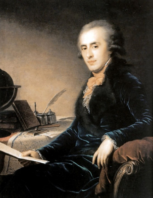 Иоганн Баптист Лампи (старший). Портрет светлейшего князя Платона Александровича Зубова