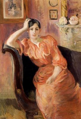 Берта Моризо. Портрет Жанны Понтийон