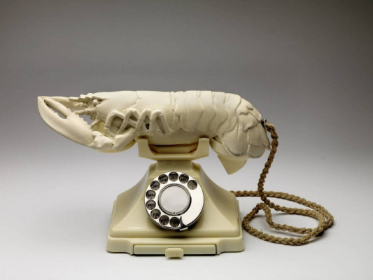 Сальвадор Дали. Телефон-омар