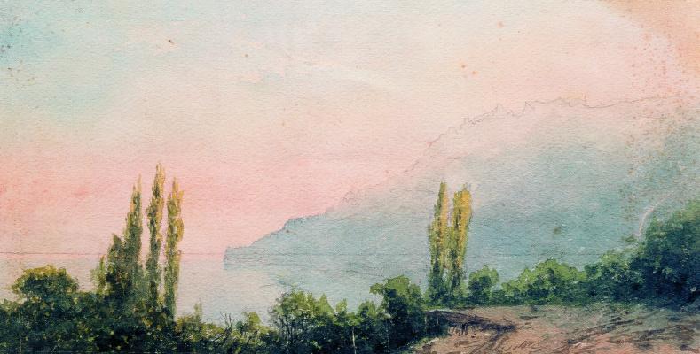 Lev Feliksovich Lagorio. Yalta