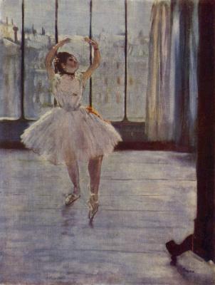 Танцовщица у фотографа (Танцовщица перед окном)