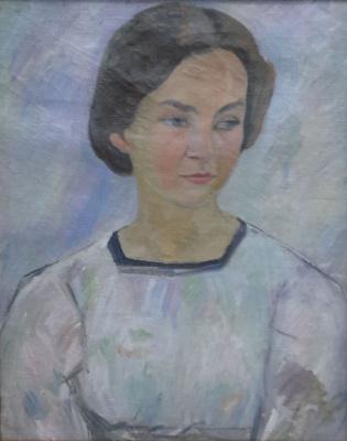 Robert Rafailovich Falk. Female portrait