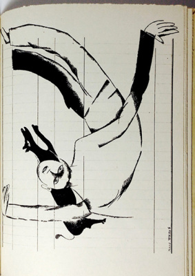 """Марк Захарович Шагал. Поль Элюар. """"Жаркая жажда жить"""". Иллюстрация 11"""