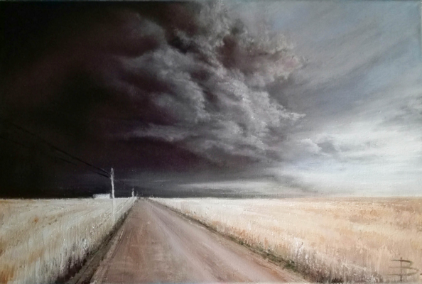 "Ekaterina Vasilyeva. ""Before the storm"""