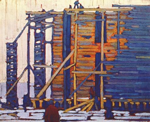 Лоурен Харрис. Строительство ледяного дома