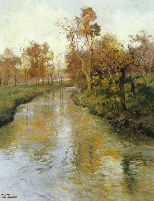Frits Thaulow. Autumn