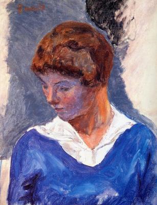 Pierre Bonnard. Young woman
