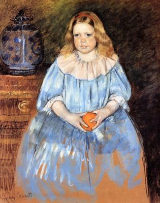 Mary Cassatt. Portrait Of Margaret Milligan Sloan