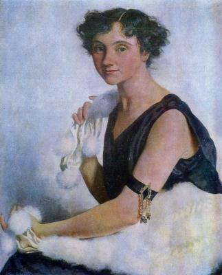 Zinaida Serebryakova. Portrait Radets'ka