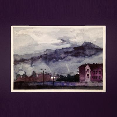 Ezik Garta. Cloudy,Wierd,Neighbourhood