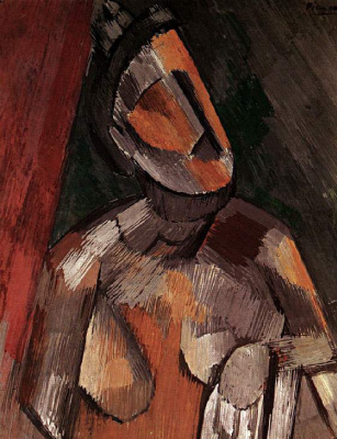 Жена на красном кресле 10