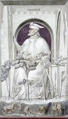 Giotto di Bondone. Injustice. Seven Vices