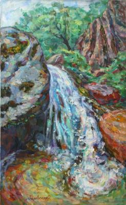 Oksana Viktorovna Zalevskaya. Waterfall