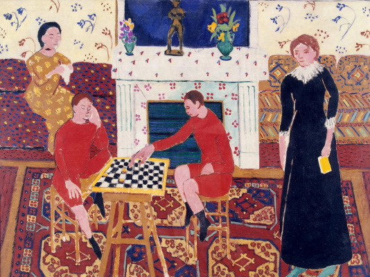 Henri Matisse. Family portrait