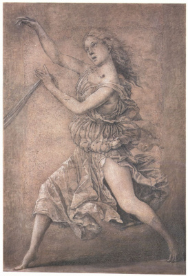 Андреа Мантенья. Танцующая муза