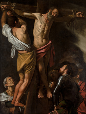 Michelangelo Merisi de Caravaggio. The Crucifixion Of St. Andrew