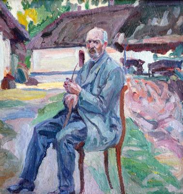 Алексей (Олекса) Новаковский. Portrait of Tuziak from Ryasnoy-Russian