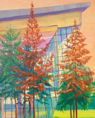 """Nikolay Nikolayevich Aksenov. """"Landscape - N 14"""""""