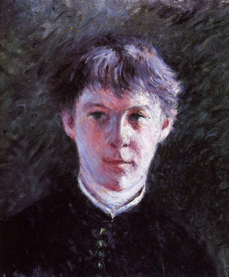 Gustave Caillebotte. Portrait of a schoolboy