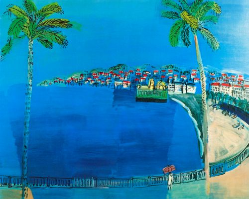 Raoul Dufy. Nice - the Bay of Angels