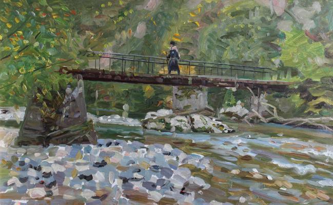 Евгений Александрович Казанцев. Kamana. Bridge.