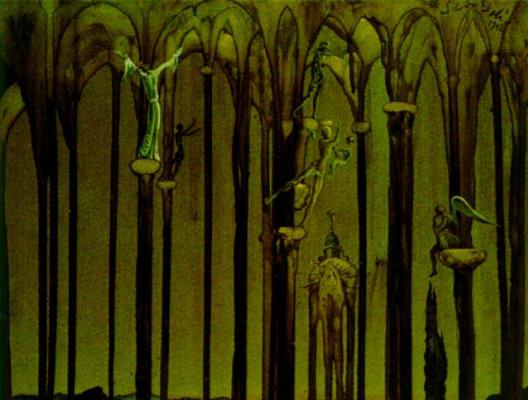 Salvador Dali. Memorial Romeo and Juliet