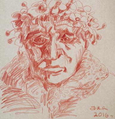 Alexander Ocher Kandinsky-DAE. Old woman