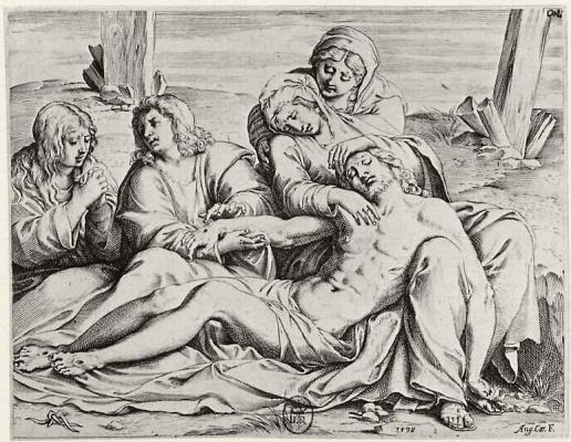 Annibale Carracci. Pieta